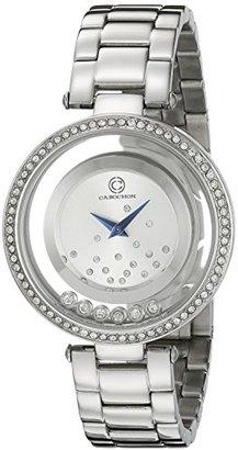Cabochon レディース 80418 – 02s Joyaアナログ表示クォーツシルバー腕時計
