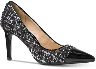 Michael Kors Dorothy Flex Capped-Toe Pumps