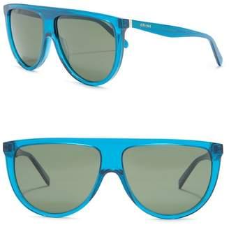 Celine 61mm Shield Sunglasses