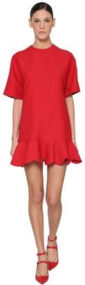 Valentino Silk & Wool Crepe Dress