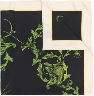 Haider Ackermann patterned scarf