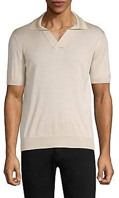 Larusmiani Larusmiani Men's Silk Polo Shirt