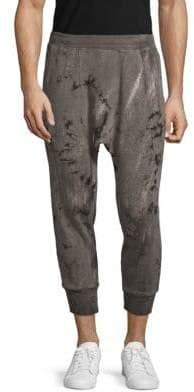 Drifter Ferrum Cropped Cotton Joggers