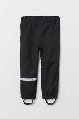 H&M Waterproof Shell Pants - Black