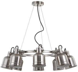 "Jonathan Y Designs Liam 26.5"" 8-Light Led Pendant Chandelier"