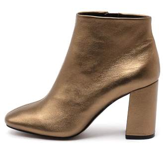 Siren Party-si Bronze Boots Womens Shoes Dress Ankle Boots