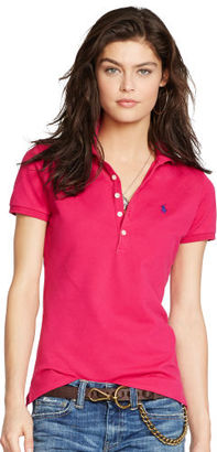Polo Ralph Lauren Skinny-Fit Stretch Polo Shirt $89.50 thestylecure.com