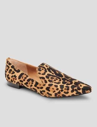 Calvin Klein elin leopard loafer
