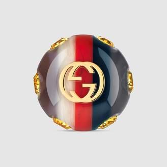 Gucci Sylvie Vintage Web ring