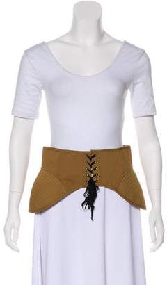 Acler Talbot Lace-Up Corset