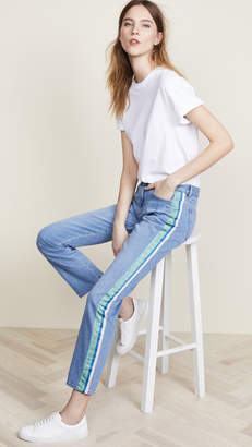 Victoria Beckham Victoria Straight Slouch Jeans
