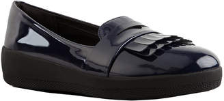 FitFlop Fringey Patent Sneakerloafer