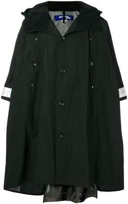 Junya Watanabe cropped sleeve hooded parka