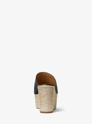 MICHAEL Michael Kors Cunningham Leather Wedge