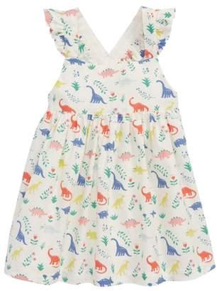 Boden Mini Woven Pinnie Dress