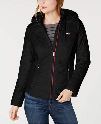Tommy Hilfiger Quilted Hooded Jacket