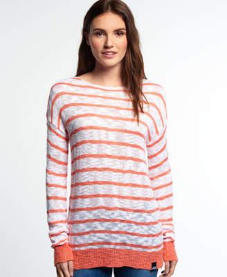 Superdry Filey Stripe Beach Knit Jumper