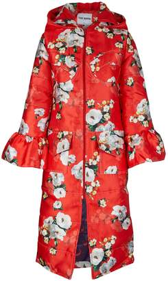 Thebe Magugu Floral winter coat