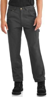 Marino Bay Men's Fleece Lined Canvas Carpenter Pants