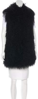 Cassin Sherry Shearling Longline Vest