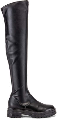 Gianvito Rossi Over the Knee Boots in Black | FWRD