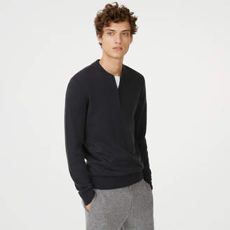 Club Monaco Merino Quarter-Zip Sweater