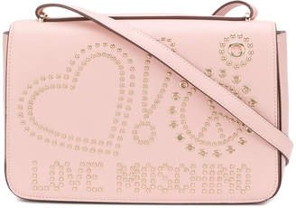 Love Moschino studded logo crossbody bag