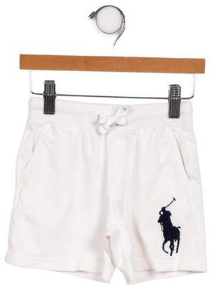 Polo Ralph Lauren Boys' Knit Logo Shorts