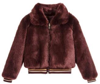 Mayoral Reversible Fur Bomber