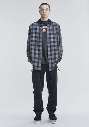 Alexander Wang TARTAN FLANNEL SHIRT
