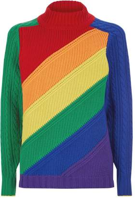 Burberry Rainbow Stripe Sweater