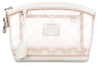 Louis Vuitton Louis Vuitton Monogram Transparence Lockit Clutch