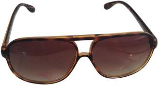 Marc by Marc Jacobs Brown Plastic Sunglasses