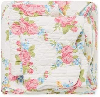 Melange Home Cottage Rose Quilt Set