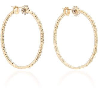 Nam Cho 18K Gold Diamond Earrings