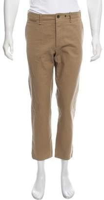 Rag & Bone Cropped Flat Front Pants