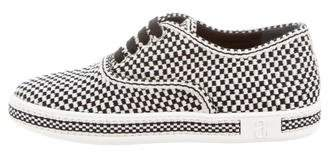 ANTOLINA Checkered Low-Top Sneakers