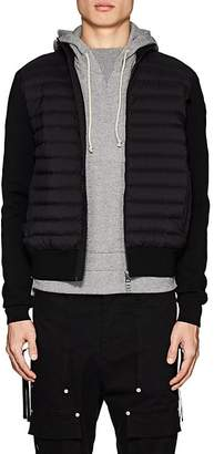 Moncler Men's Maglia Down-Quilted Cotton-Blend Jacket
