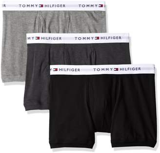 48aae7f94b76ff Tommy Hilfiger Men's Underwear 3 Pack Cotton Classics Trunks