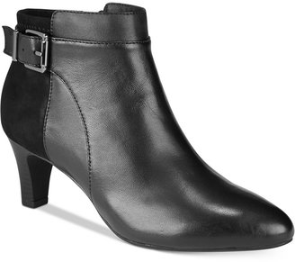 Alfani Women's Step 'N Flex Viollet Ankle Booties, Created for Macy's Women's Shoes $99.50 thestylecure.com