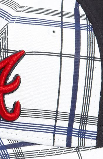 New Era Cap 'Atlanta Braves - Plaidtastic' Fitted Baseball Cap