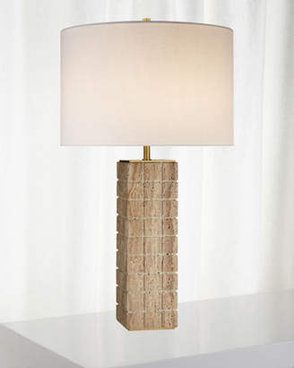 Kelly Wearstler Pietra Large Hand-Carved Table Lamp