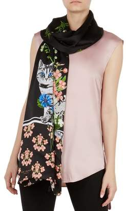 Ted Baker Florence Long Silk Scarf