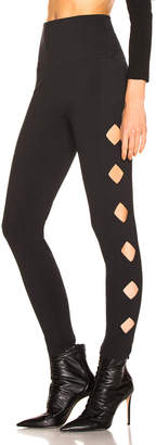 Norma Kamali Cut Out Legging
