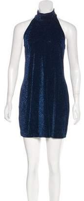 Versus Metallic Velvet Dress