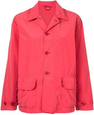 Aspesi button-down fitted jacket