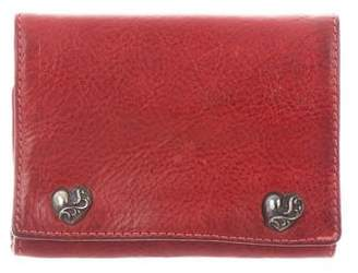 Chrome Hearts Leather Trifold Wallet