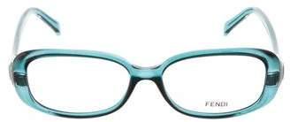 Fendi Logo Resin Eyeglasses