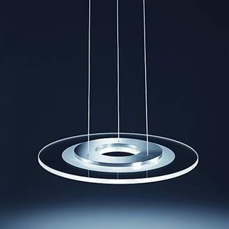 Camilla And Marc helestra 0 Including Built-in 9 x 3 W LED Light Diameter 210 x 45 cm Stainless Steel Eek A + + A, 96/1315.86/508