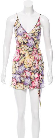 MissoniMissoni Swim Cover-Up Wrap Dress